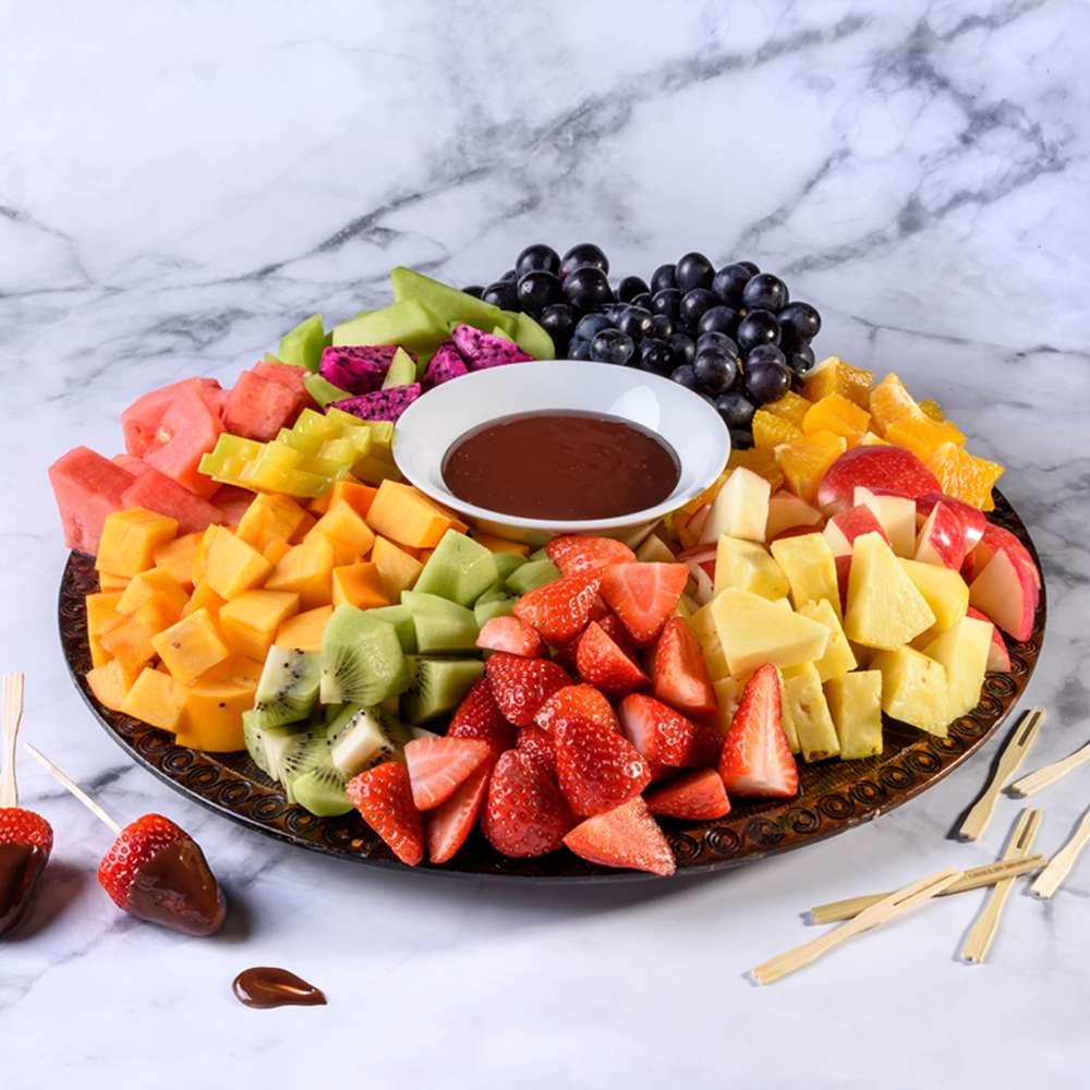 מגש פירות צבעוני